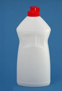 Пластиковый флакон под средства для мытья посуды