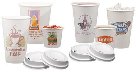 Купить бумажные гофрированные и пластиковые стаканчики