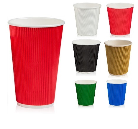 Бумажные стаканы для кофе: одноразовые, картонные, белые