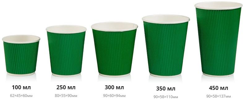 Однослойные стаканы от 1000 штук Однослойные стаканы от