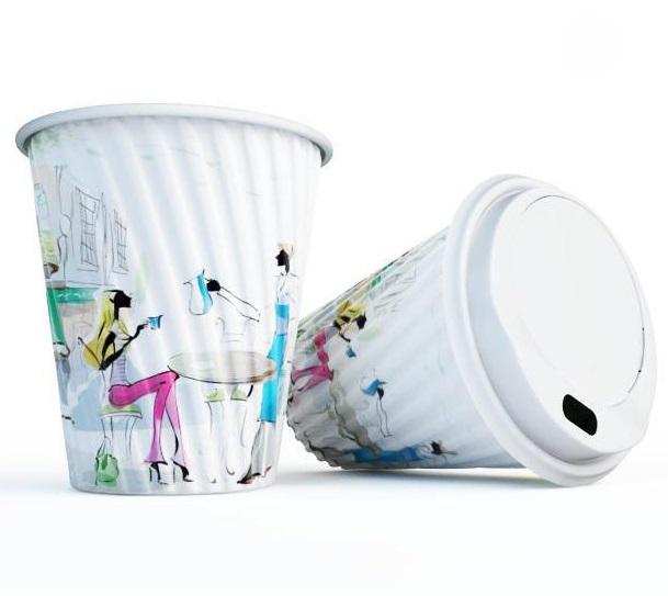 Экологичные бумажные стаканы для горячих напитков